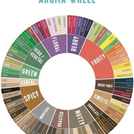 CoffeeMind Aroma Wheel